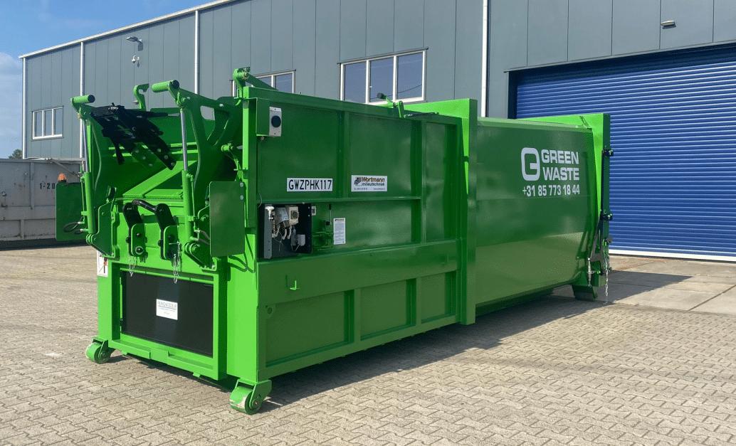 Greenwaste-perscontainer-restafval-papier/karton